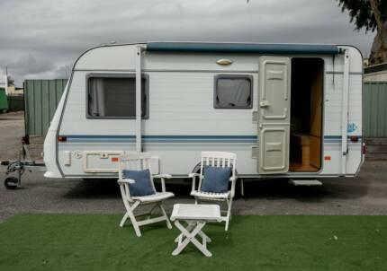 2008 Adrea Altea Caravan Combo Ensuite $22,990 Tow Away Camden Park West Torrens Area Preview