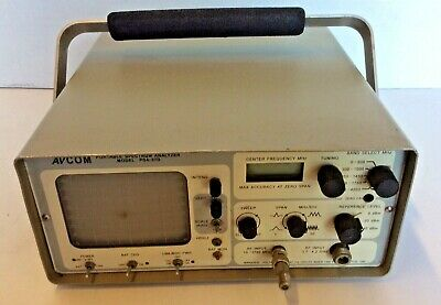 Avcom Portable Spectrum Analyzer Psa-37d With Handle