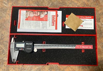 New Starrett Electronic 8 Caliper 798b-8200 New In Box 798 Series