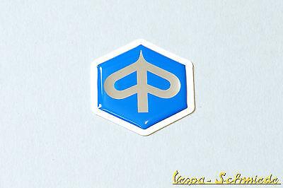 VESPA Emblem Piaggio 6-Eck Zum Kleben - ET2 ET4 Gilera Sfera Kaskade Schriftzug