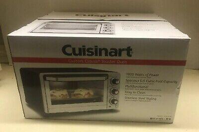 Cuisinart Custom Classic Toaster Oven Broiler-Stainless Steel-TOB-40N-BRAND