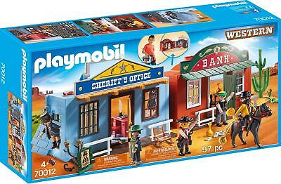 Playmobil 70012 Take Along Western City Toy Wild West