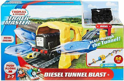 Thomas and Friends Diesel Tunnel Blast Playset (Push Along) BRAND NEW