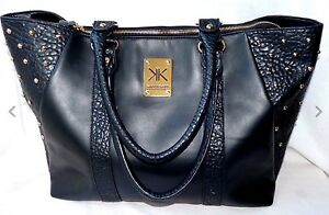 Kardashian Kollection  Large Black Stud Tote Bag Maryland Newcastle Area Preview