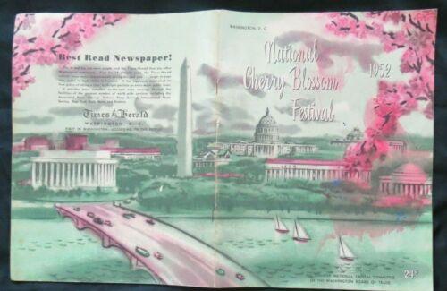 CHERRY BLOSSOM FESTIVAL - WASHINGTON DC - 1952