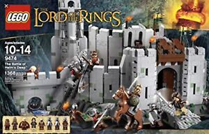 LEGO Lords or The Ring - The Battle of Helm's Deep