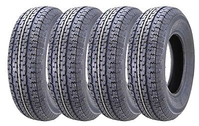 4 New Premium WINDA Trailer Tires ST 205 75R15  / 8PR Load Range D - 11104