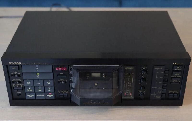 Excellent Nakamichi RX 505 Unidirectional Auto Reverse Cassette Deck  Needs Fix