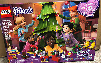Lego Friends 41353 Friends Advent Calendar 2018 Building Kit 500 Pcs Christmas