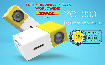 YG300 1080p HD Projector - Enhance Your Life With This Portable Projector