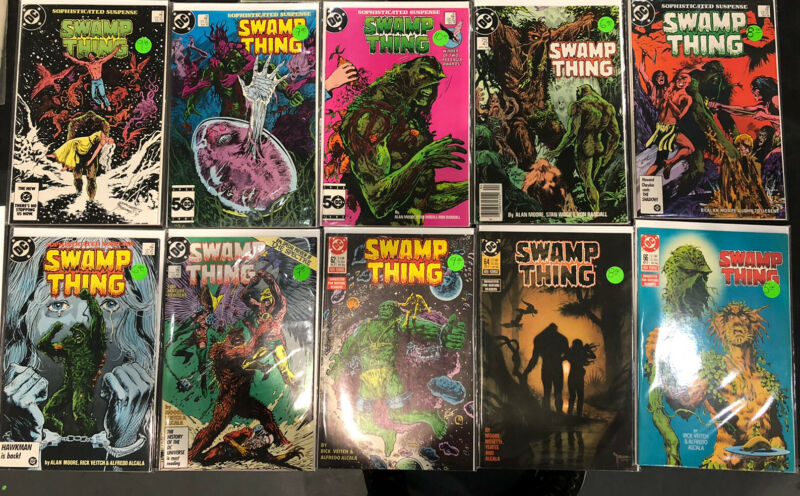SWAMP THING (1984-1994) Comic Lot! High Grade Alan Moore! See Description!
