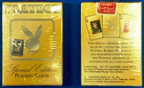 "PLAYBOY ""Special Edition 2010"" ~ Playing Cards 1 Deck ~ Ships FREE"