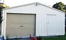 Colourbond Garage 6m X 6m - Dismantle and removed by the BUYER Eastlakes Botany Bay Area Preview