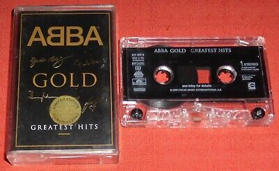 ABBA - UK CHROME CASSETTE TAPE - GOLD - GREATEST HITS - SIGNATURE CASE (BEST OF)