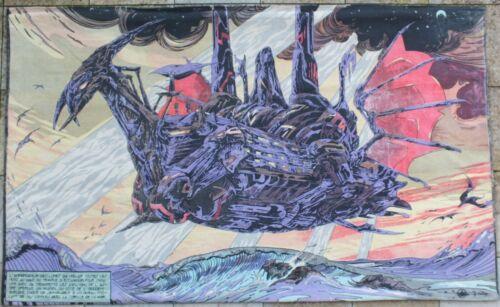 Canvas Druillet Salammbô 50/51