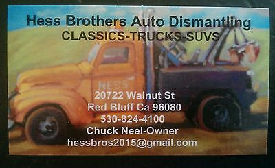 Hess Brother Auto Dismantling