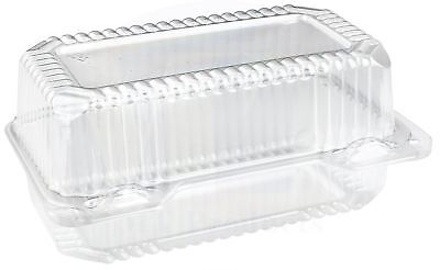 Disposable Plastic Loaf / Small Hoagie Container by MT Products - (Pack of 20)