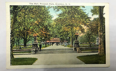 Vintage The Mall Prospect Park Brooklyn NY  Postcard Posted New (The Mall New York)