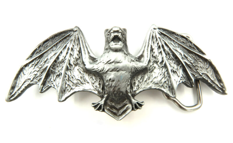 Bat Wings Metal Belt Buckle