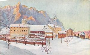 Cartolina-Postcard-Illustrata-Montanina-Dintorni-anni-039-50