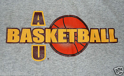 ASU Basketball LARGE grey SHIRT Arizona State University Sun Devils -