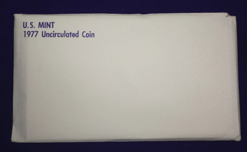 1977 UNCIRCULATED Genuine U.S. MINT SETS ISSUED BY U.S. MINT