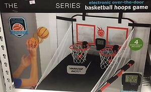 Brand New The Black Series basketball hoops game