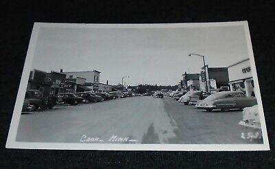 RPPC - Main Street, Cook, Minnesota Vintage Postcard