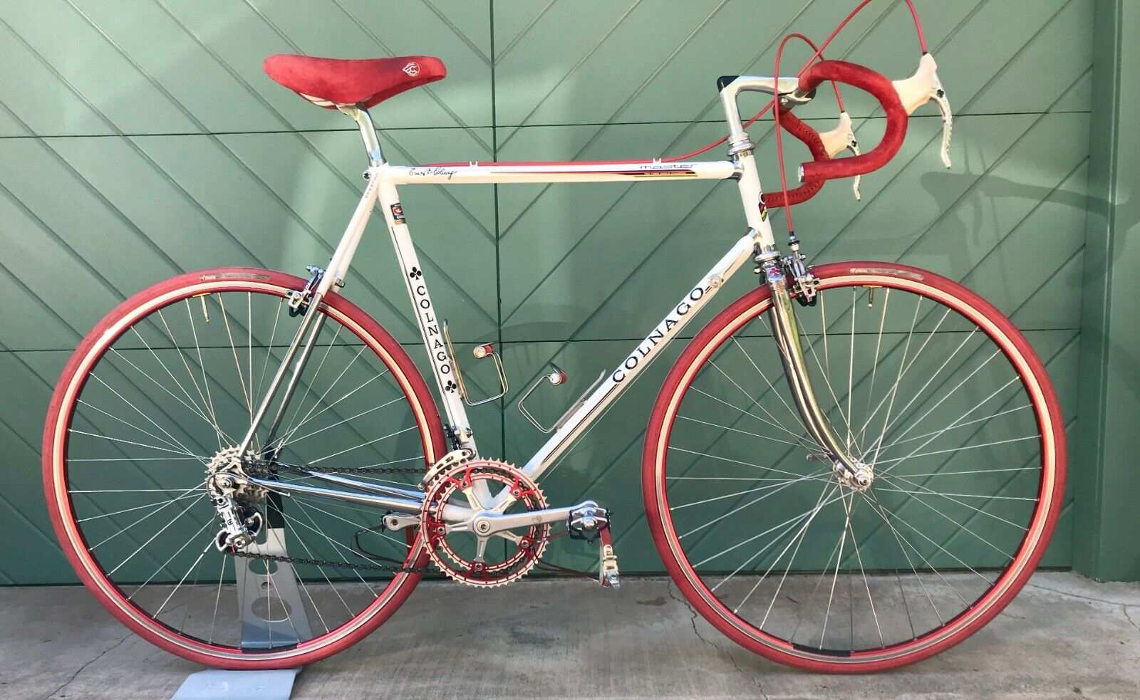 COLNAGO MASTER Vintage Bicycle 58cm 1st Gen Gilco S4-Campagnolo-Pantographed (Used - 6795 USD)