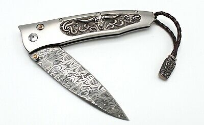 William Henry B30 Gentac LONGHORN Knife- BRAND NEW, Sold Out Edition of 250