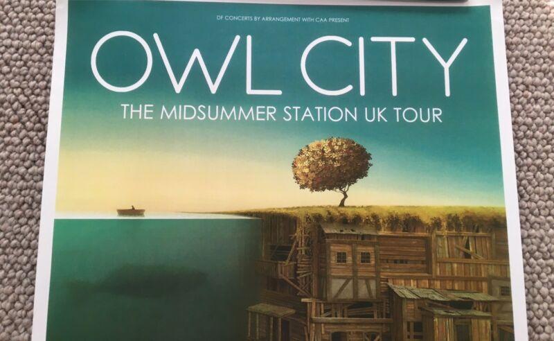 Owl City Glasgow Show Poster   Miscellaneous Goods   Gumtree