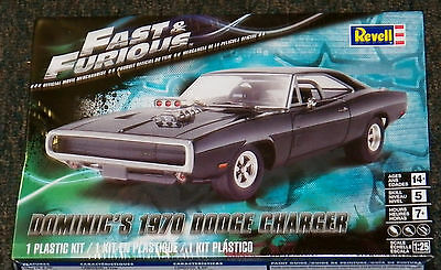 Revell Monogram Fast & Furious Dominic's 1970 Dodge Charger Model Kit 1/25