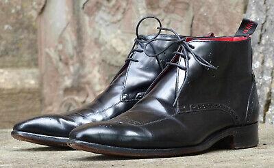 Super Jeffery West Mie Boot  - UK 9 Black Leather