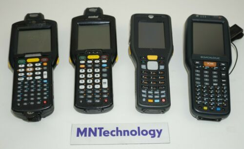Mixed Lot of 4 - Motorola and Datalogic | Non-Tested Parts Only Barcade Scanner