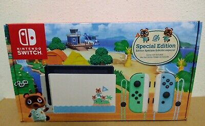 Nintendo Switch Animal Crossing New Horizons Limited Edition Console - 32GB