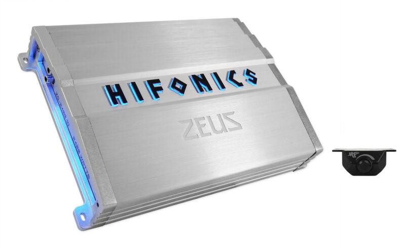 Hifonics ZG-2400.1D ZEUS Gamma 2400 Watt Mono Amplifier Car Audio Class D Amp