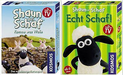 Kosmos Shaun das Schaf Kartenspiel Spiel Brettspeil Kinderspiel Karten