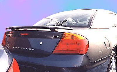 PAINTED CHRYSLER SEBRING 2-DOOR AND 4-DOOR CUSTOM STYLE II SPOILER 2001-2006 (2001 Chrysler Sebring Door)