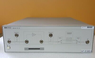 Hp Agilent 81685a Amplifier Test Set. Tested