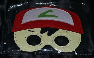 Ash Ketchum Katchem Halloween Masks Costumes Boys Kids - Pokemon Ash Ketchum Halloween Kostüm
