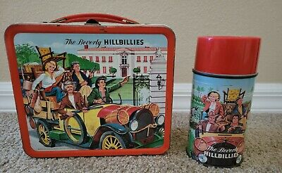 1963 The Beverly Hillbillies Metal Lunchbox & Thermos