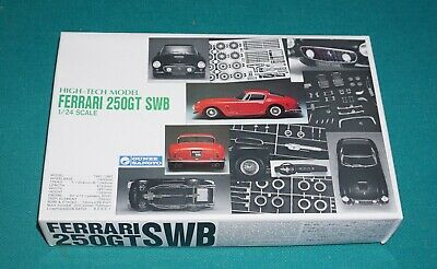 Ferrari 250 GT SWB Gunze High Tech Multimedia Kit 1/24 Complete & Unstarted.