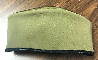 OLIVE GREEN COSTUME MILITARY HAT DANCE COSTUME -FITS 22