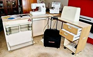 Janome Sewing Machine / Overlocker Station Kotara Newcastle Area Preview