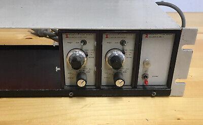 A Endevco Charge Amplifier 2721b 15v -15v