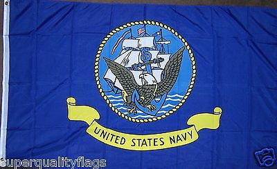 NAVY U.S. MILITARY FLAG NEW 3X5 ft au