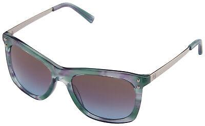 Michael Kors Lex Sunglasses MK 2046 323848 54 Teal Floral   Brown / Blue (Lex Sunglasses)