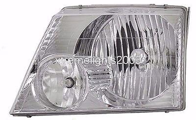 REXHALL AERBUS 06 2006 FRONT LAMP HEAD LIGHT LEFT DRIVER HEADLIGHT RV MOTORHOME
