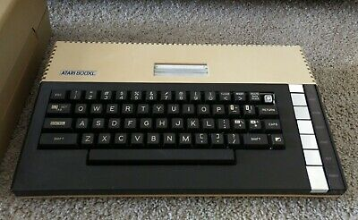 Atari 800xl console! Working! 2 games! A disk drive that might work? ATARI 8 BIT