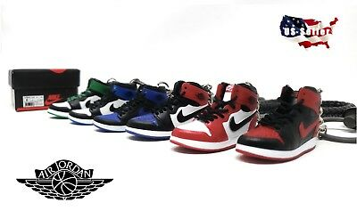 Keychain Air - AIR JORDANS - 3D MINI SNEAKER KEYCHAIN - GIFT SET - MANY STYLES OF SHOES